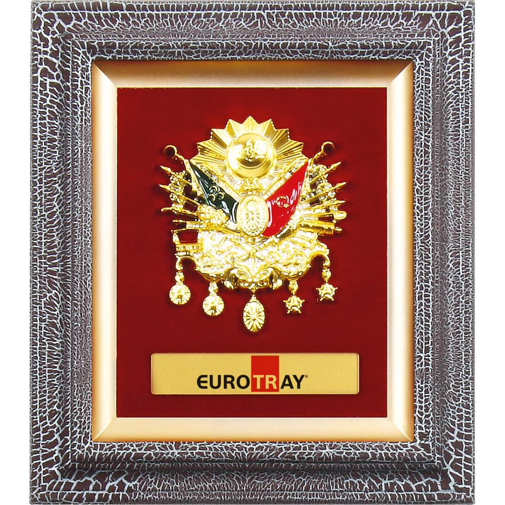 3236-A Altın Osmanlı Arması Pano