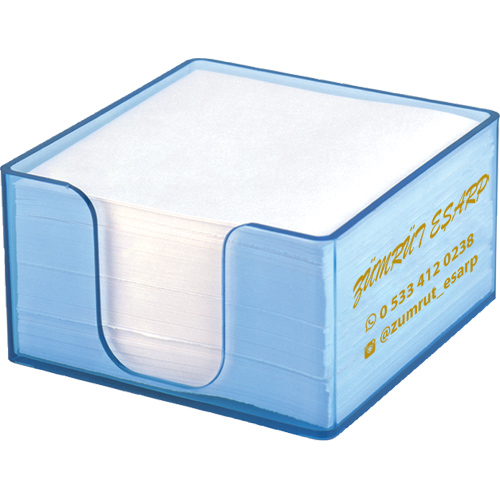 L609 Küp Bloknot Kağıtsız