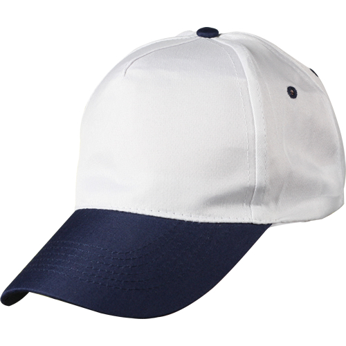 0302 Beyaz - Lacivert Siperli Şapka