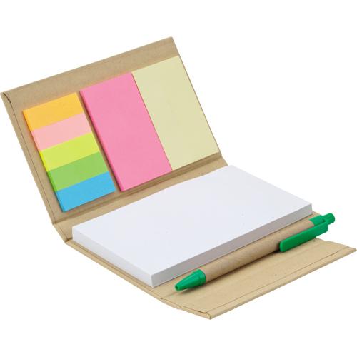 GD-010 Renkli Yapışkanlı Notluk