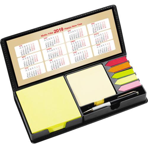 PT-001 Renkli Yapışkanlı Notluk